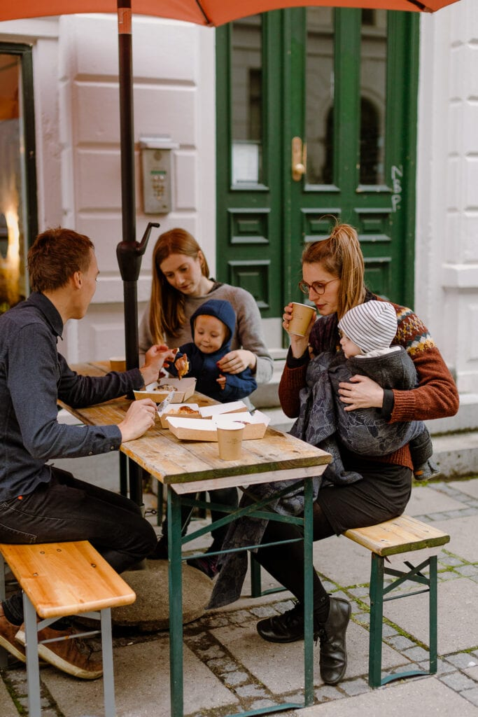 café time with toddlers